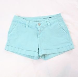 Tommy Hilfiger Seafoam Green Stretch Shorts